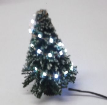 N Scale Christmas Tree with LED Lights